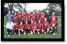 Hinton Res Burghill Cup Winning Team 2010